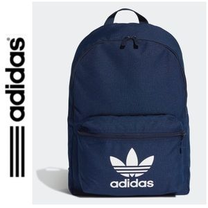 NWT Adidas Originals large backpack navy